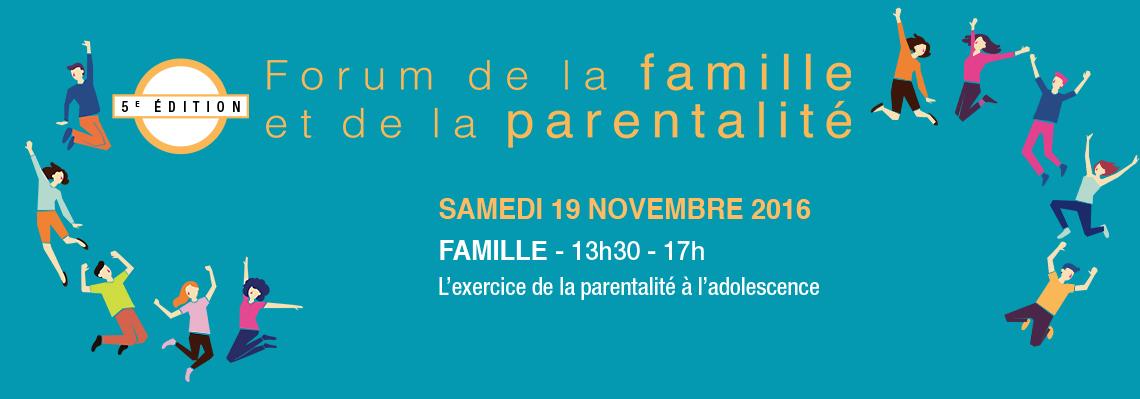 Forum de la famille et de la parentalité