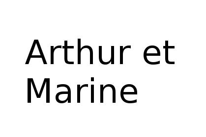 Arthur et Marine – 75013