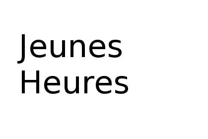 Places libres : Les Jeunes Heures – 75003