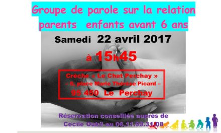 Groupe de parole au Chat Perchay – 22 avril