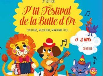 P'tit festival de la butte d'or – 20 mai