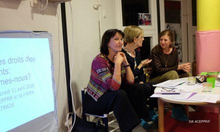 Inter-crèches en chaussettes : Faire exister les droits des enfants : où en sommes-nous?