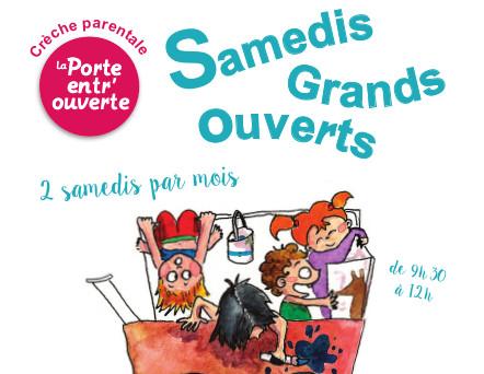 Samedis Grands Ouverts à la Porte entr'ouverte : 21 septembre à 9h30 – 75014 Paris