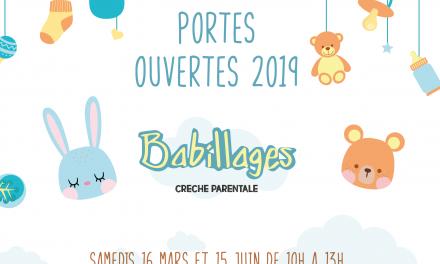 Portes ouvertes : – 15 juin 2019 – crèche parentale Babillages 75011