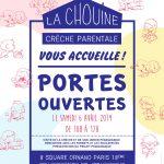 Portes ouvertes la Chouine 75018 – 6 avril 2019