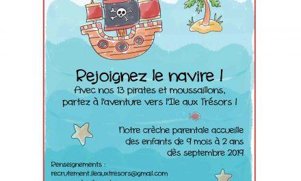 Portes ouvertes Île aux trésors 75019 Paris : 13 avril