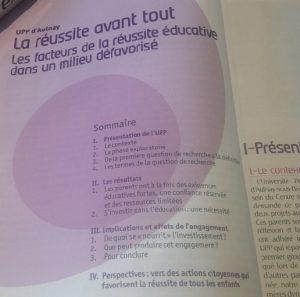 """photo ouvrage UPP """"la réussite avant tout"""""""
