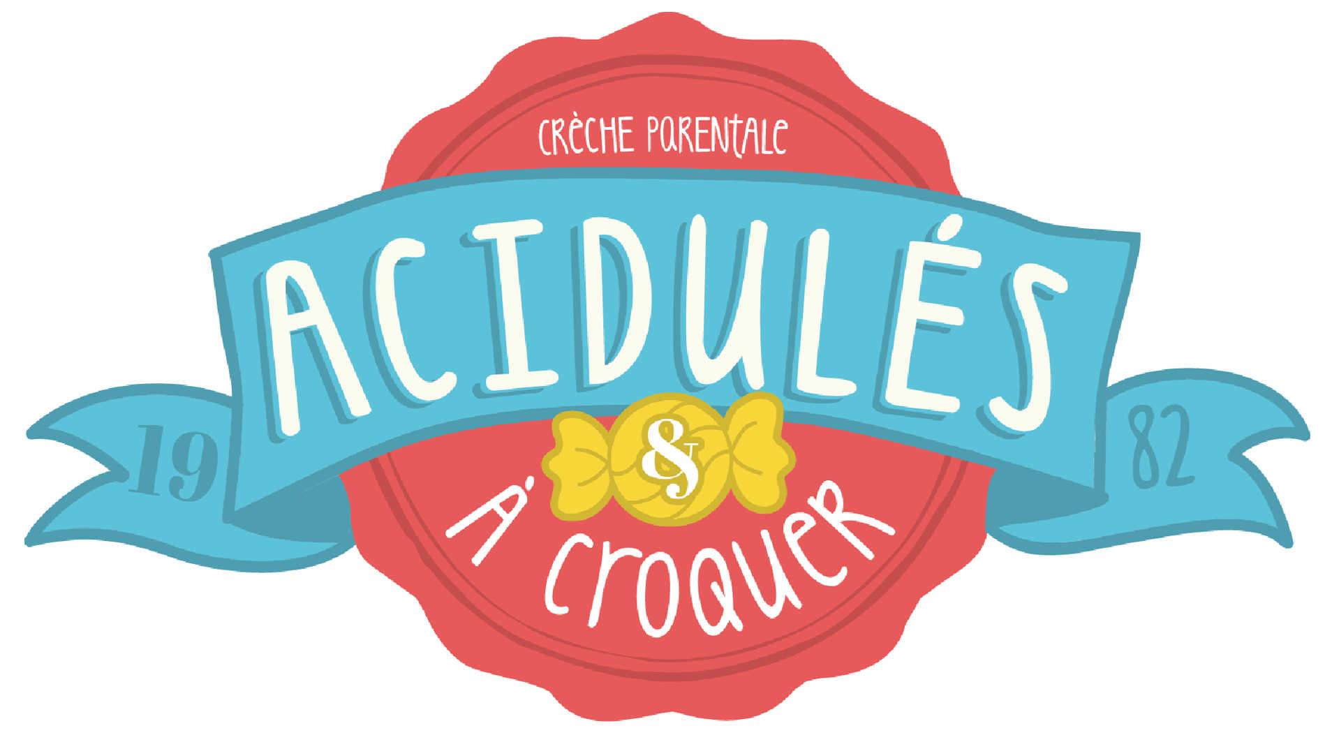 Logo crèche parentale Acidulés à croquer