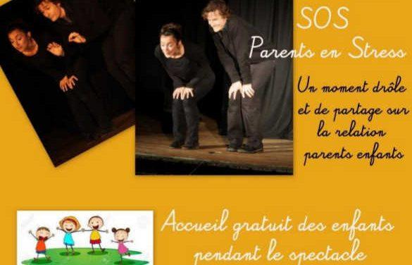 SOS parents en stress : Comédie le samedi 11 mai à 15h45 – Le Perchay 95450