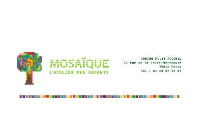 Mosaïque l'Atelier des enfants – 75011