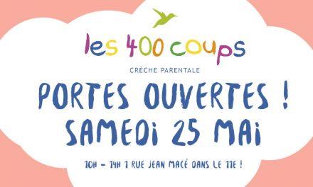 Portes ouvertes : Les 400 coups – 75011 Paris