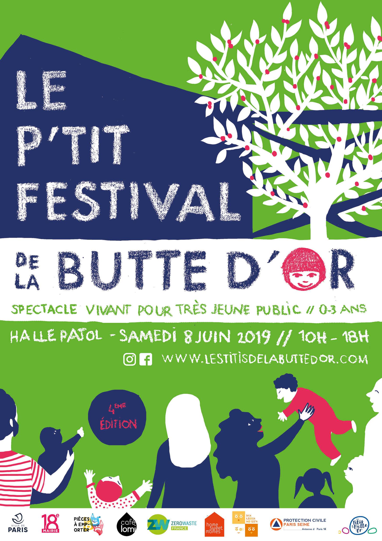 Invitation festival de la butte d'or