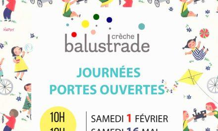 Portes ouvertes – Balustrade – 75011 Paris