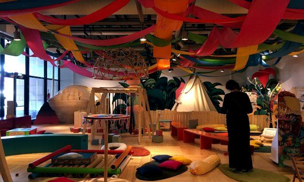 Le Lab des bébés à la cité des sciences, un lieu réjouissant à découvrir avec vos petits jusqu'à 2 ans