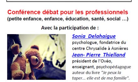 Conférence débat autour des violences éducatives ordinaires – 28 février