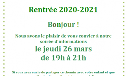Soirée d'information – Les Crocos 75012 – 26 mars