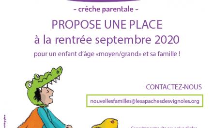 Place libre aux Apaches des Vignoles – 75020 Paris
