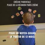 Place libre à Farandole en septembre – 75020 Paris