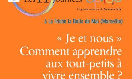 11e Journées Spirales – 15 & 16 octobre – Marseille