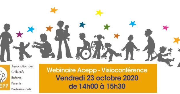 Conférence Acepp vendredi 23 octobre autour de la dynamique participative
