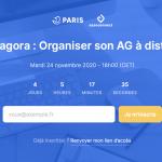 Organiser son AG à distance : replay de la visio du 24 novembre 2020
